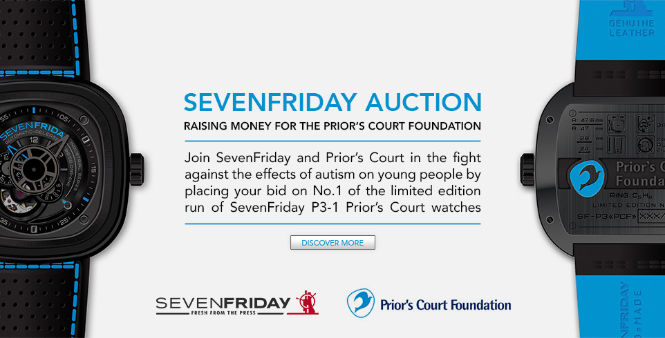 SevenFriday Auction