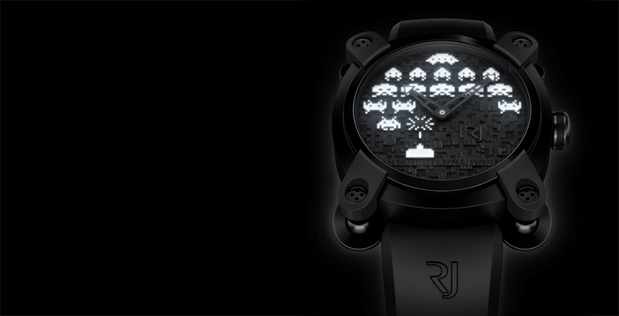 Romain Jerome Launch Space Invaders Watch