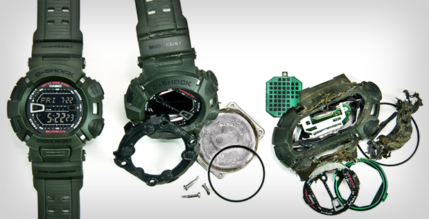 The Casio G-Shock Tested to Destruction