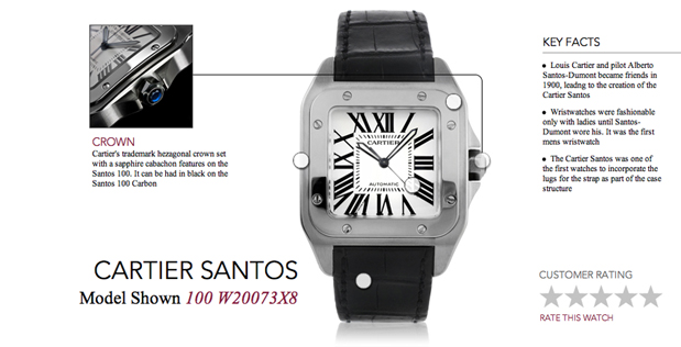 Cartier Santos